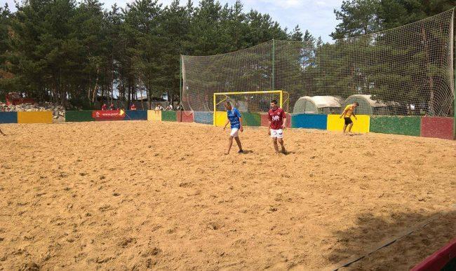 Beach Soccer: Drugi turniej 1 ligi w Chodczu