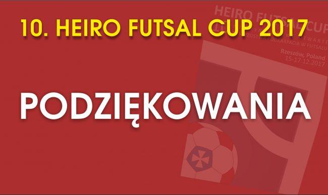 10. Heiro Futsal Cup 2017 – PODZIĘKOWANIA !