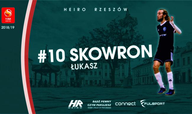 Łukasz Skowron zawodnikiem Heiro