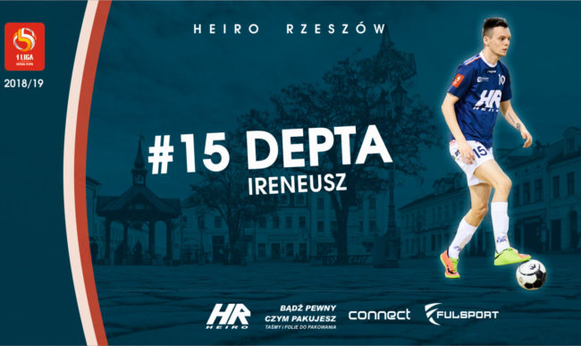 Ireneusz Depta w nowym sezonie nadal w Heiro !