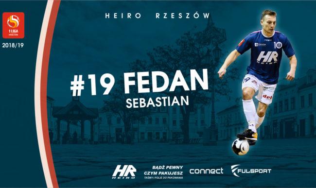 Sebastian Fedan kolejnym zawodnikiem