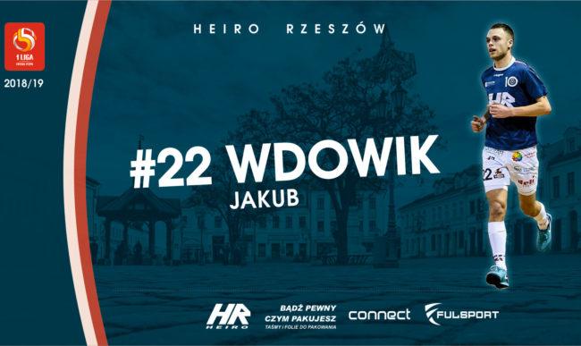 Jakub Wdowik kolejny sezon z Heiro