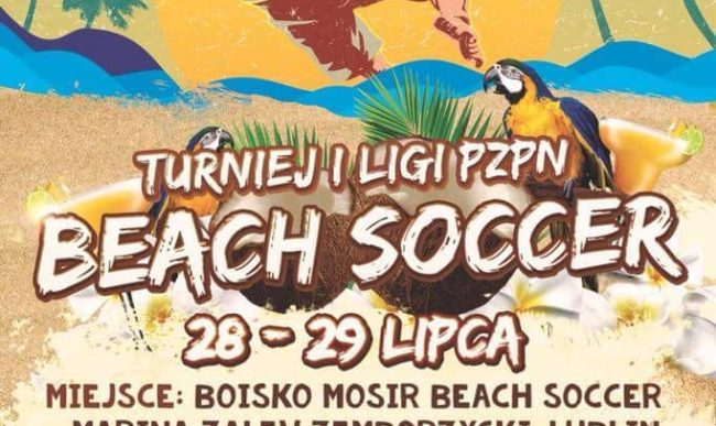Beach Soccer: W weekend drugi turniej 1 ligi