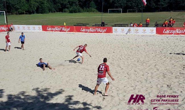 Beach Soccer: Mamy drugą wygraną w 1 lidze
