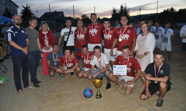 Fulsport Heiro wicemistrzem Podkarpacia w Beach Soccerze