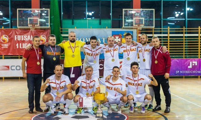 Irex Gaz Chorzów zwycięża w 11. Heiro Futsal Cup