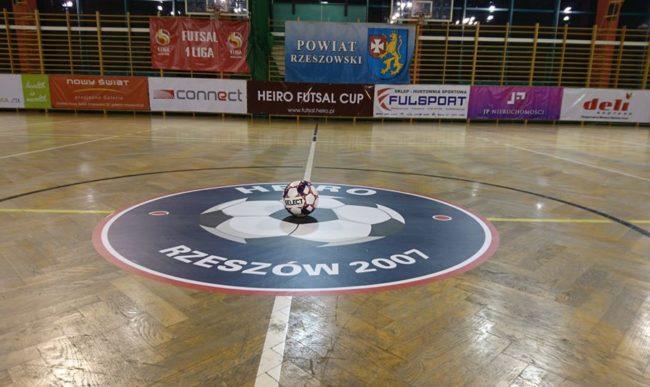 Wstępny harmonogram 12. Heiro Futsal Cup