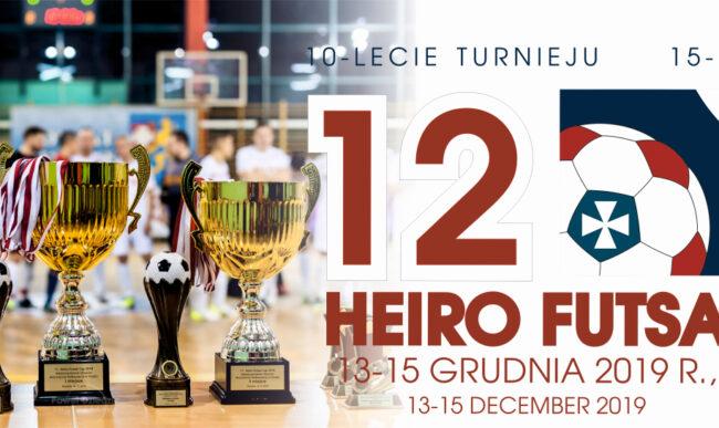 Zagraj w 12. Heiro Futsal Cup
