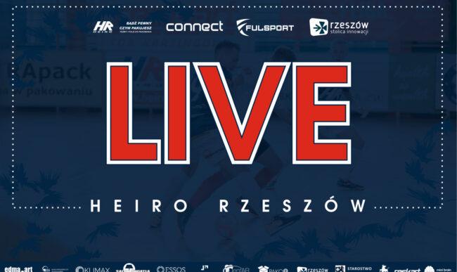 LIVE: Heiro Rzeszów – Berland Komprachcice (1 liga futsalu)