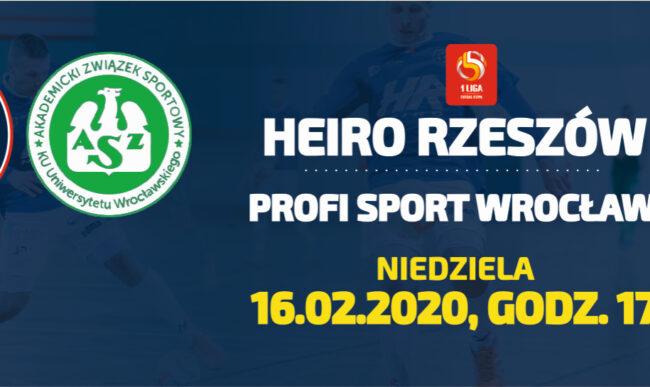 W niedzielę bardzo ważny mecz z Wrocławiem