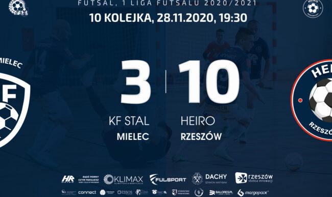 1 liga: Nokaut w derbach. Stal – Heiro 3-10. [WIDEO, Kulisy + Skrót]