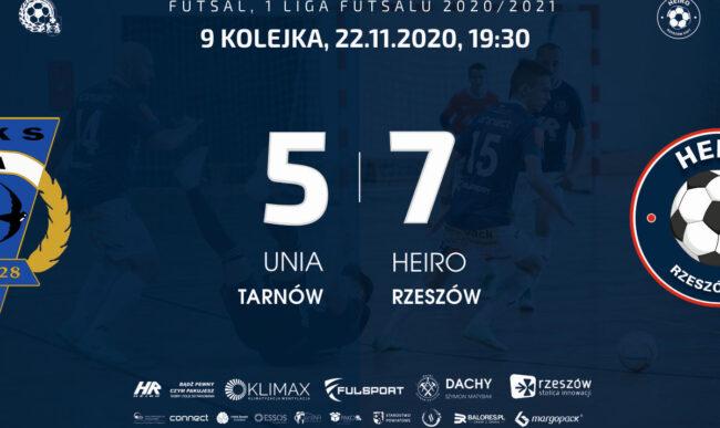 Wygrana w Tarnowie. Unia – Heiro 5-7 (4-3)