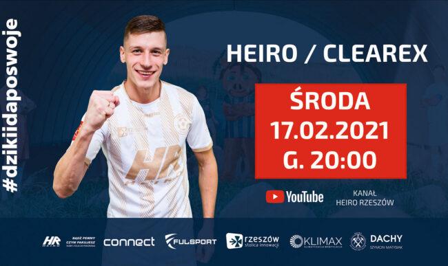 1/16 Pucharu Polski (LIVE) – Heiro – Clearex Chorzów