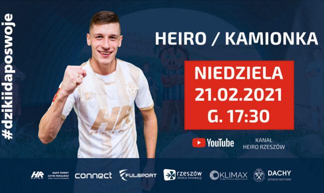 [NA ŻYWO] 1 liga futsalu: Heiro Rzeszów – Kamionka Mikołów (niedziela, 17:30)