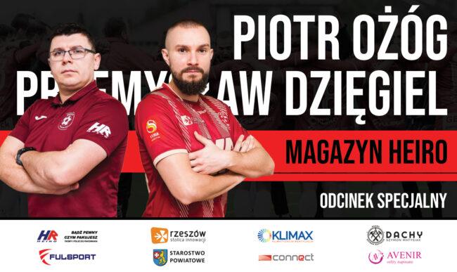 Przemysław Dzięgiel i Piotr Ożóg przed startem rundy wiosennej [wideo]
